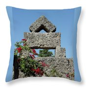 Coral Castle For Love Throw Pillow