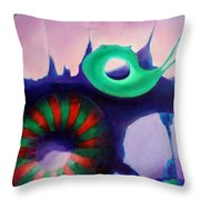 Coral Cavern 1.0 Throw Pillow
