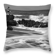 Coral Cove Park 0594 Throw Pillow