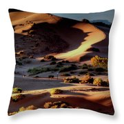 Coral Pink Sand Dunes Dawn Throw Pillow