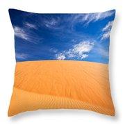 Coral Pink Sand Dunes State Park, Kanab, Utah Throw Pillow by Bryan Mullennix