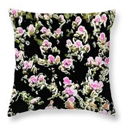 Coral Spawning  Throw Pillow