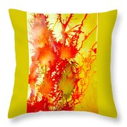 Corals In Sunrise  Throw Pillow