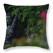 Corazon De Buda Throw Pillow