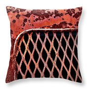 Corbitt Truck Throw Pillow