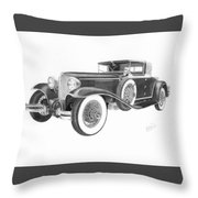 1929 Cord Throw Pillow
