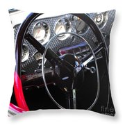 Cord Phaeton Dashboard Throw Pillow