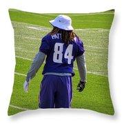 Cordarrelle Patterson Throw Pillow