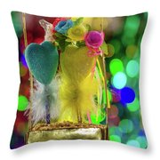 Cordial Congratulations From Ukraine Throw Pillow