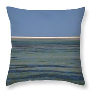 Core Banks Horizon Throw Pillow
