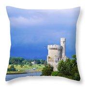Cork City, Blackrock Castle Throw Pillow