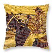Corn Art At Corn Palace 01 Throw Pillow