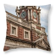 Corn Exchange National Bank Throw Pillow