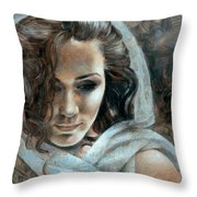 Cornelia Portrait2 Throw Pillow