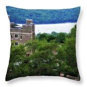 Cornell University Ithaca New York 09 Throw Pillow