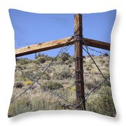 Corner Crossing Throw Pillow