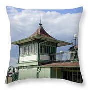 Corner Detail Of The Pavilion - Ryde Throw Pillow