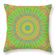 Corner Of Love And Haight Throw Pillow
