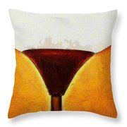 Cornerlamp - Pa Throw Pillow
