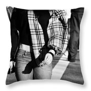 Corners Of You Throw Pillow