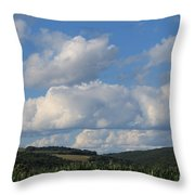 Cornfield With A View Throw Pillow