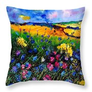 Cornflowers 680808 Throw Pillow