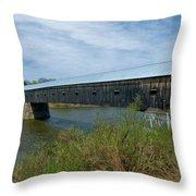 Cornish-windsor Bridge Throw Pillow