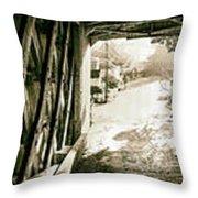 Cornwall Bridge Throw Pillow