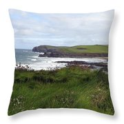 Cornwall Coast 3 Throw Pillow