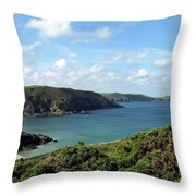 Cornwall Coast II Throw Pillow