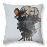 Cornwall Man Engine Throw Pillow