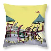 Cornwall Play Throw Pillow