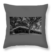 Corolla Bridge Throw Pillow