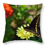 Corolla Garden Throw Pillow