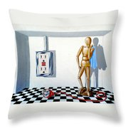 Corporate Relationship Throw Pillow