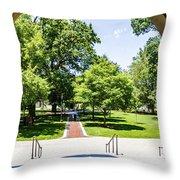 Corr Hall Walkway Throw Pillow