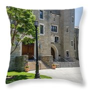 Corr Residence Hall Throw Pillow