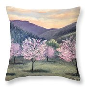 Corrales New Mexico Throw Pillow
