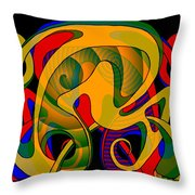 Corresponding Independent Lifes Throw Pillow