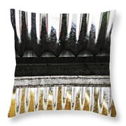 Corrugated Metal Abstract 8                              Throw Pillow
