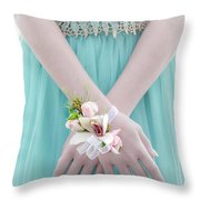 Corsage Throw Pillow by Rod Sterling