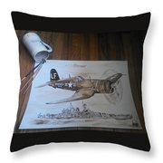Corsair Throw Pillow