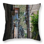 Corsia Throw Pillow