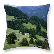 Cortina 2 Throw Pillow