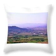 Cortona Tuscany Italy Throw Pillow
