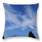 Corvallis Cloudscape Throw Pillow by Ben Upham III