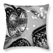 Corvette Bokeh Throw Pillow by Gordon Dean II