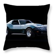 Corvette C3 Stingray II Throw Pillow