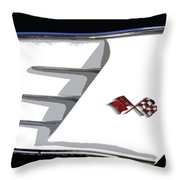 Corvette Colors Throw Pillow