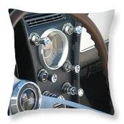 Corvette Console Throw Pillow